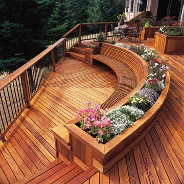 Modern Deck Install And Repair