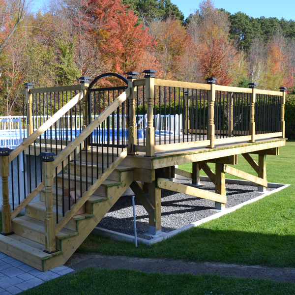 Pool Deck Repair - Jsw Deck Repair - Colonial Beach, Virginia